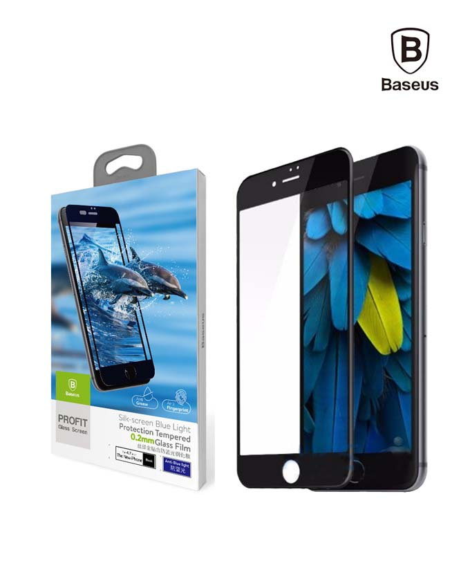 Baseus 0.2mm Silk Screen Printed Full screen Protector - iPhone 7Plus (SGAPIPH7P-ASL01)