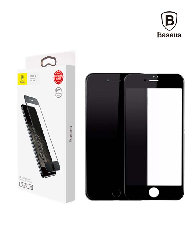 Baseus PET Soft 3D Frosted Screen - iPhone 7/8 Plus - Black Matte (SGAPIPH8P-BPE01)