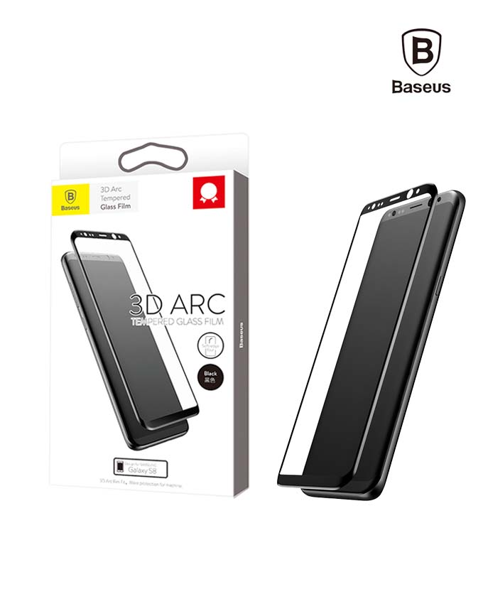 Baseus 3D Arc Tempered Glass Film - S8 (SGSAS8-3D01)