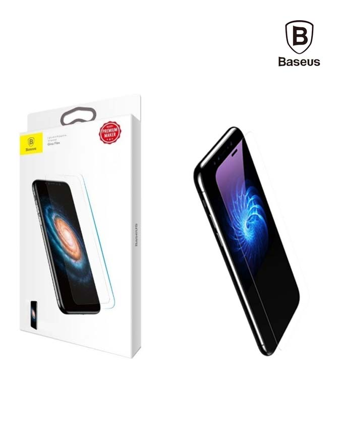 Baseus Tempered Glass Anti-Blue light for iPhone X - Transparent (SGAPIPHX-FSB02)