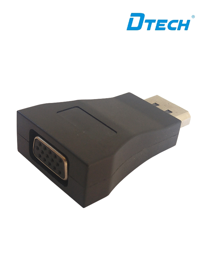 Dtech DT-6503 Display Port to VGA Adapter - Black