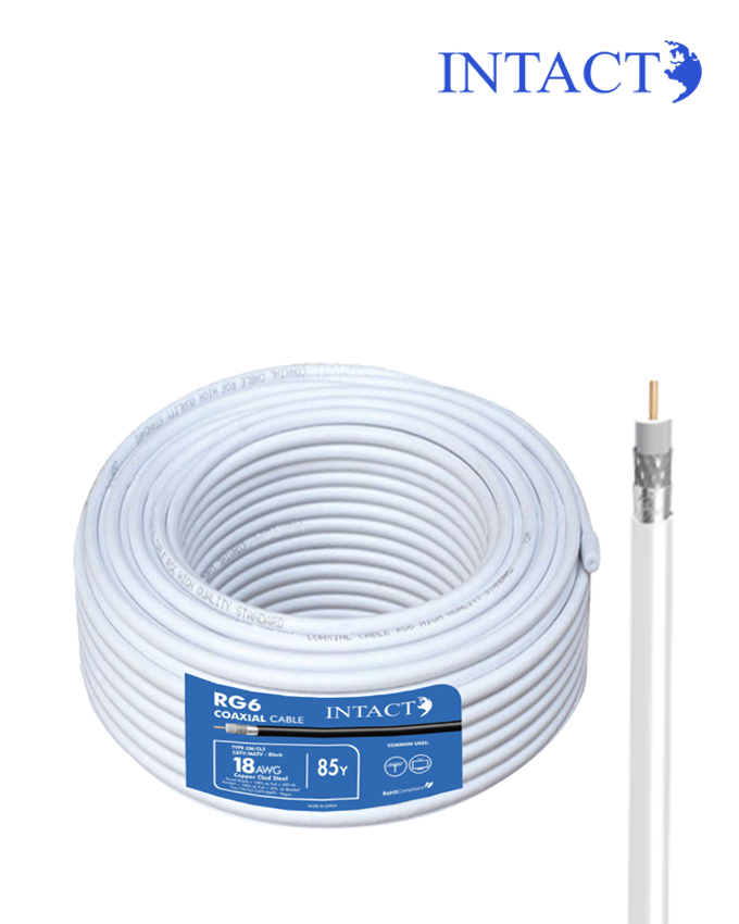 Intact RG6 Coaxial Cable - 85Y