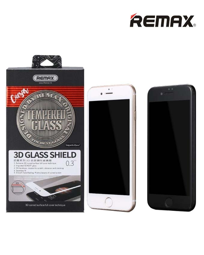 Remax GL-04 Caesar Series 3D Tempered Glass - iPhone 7/8 Plus