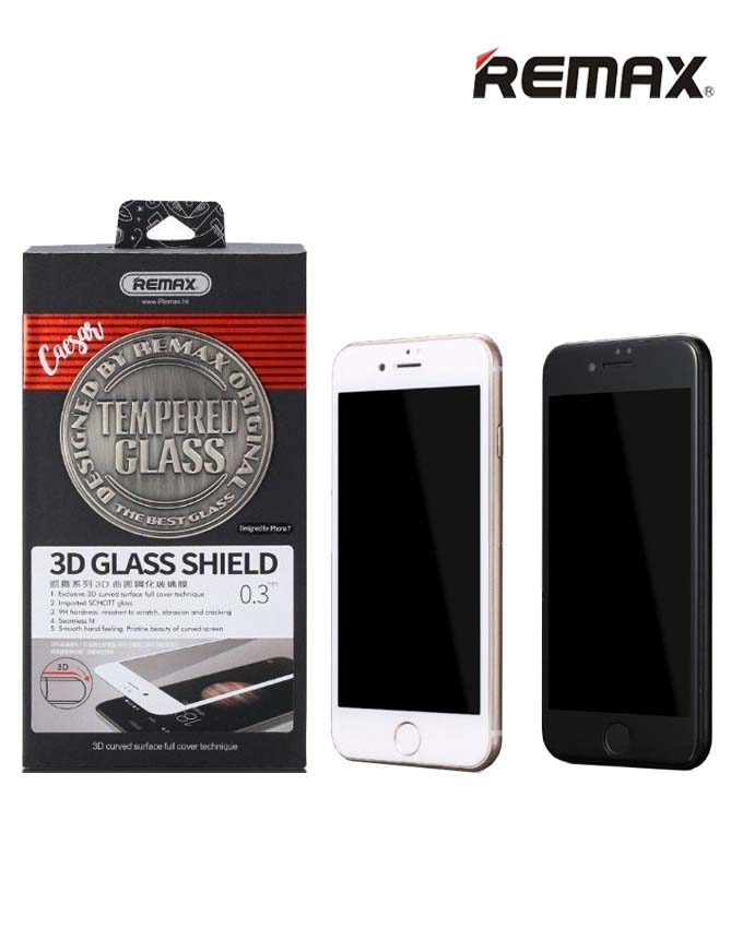 Remax GL-04 Caesar Series 3D Tempered Glass - iPhone 7/8