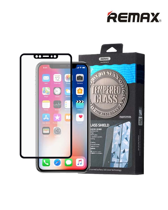 Remax GL-04 Caesar Series 3D Tempered Glass - iPhone X