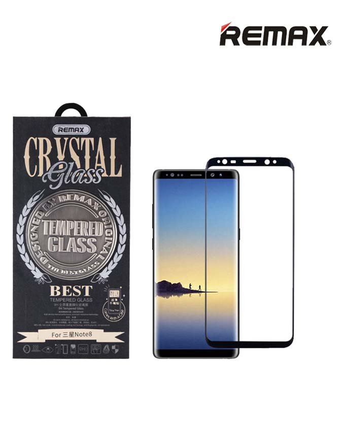 Remax GL08 Crystal Tempered Glass - Samsung Note8
