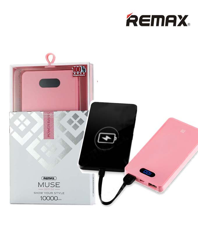 Remax RPP-34 MUSE Power Bank - 10000mAh
